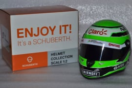 Nico Hulkenberg Sahara Force India helmet 2016 season
