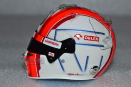 Antonio Giovinazzi Alfa Romeo helmet 2020 season