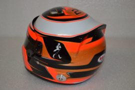 Stoffel Vandoorne Mc Laren Honda Helmet 2017 Season