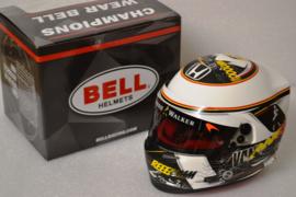 Stoffel Vandoorne Mc Laren Honda Helmet Belgian Grand Prix 2017 season