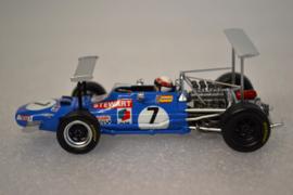 Jackie Stewart Matra MS10 Race Car South African Grand Prix 1969 Season