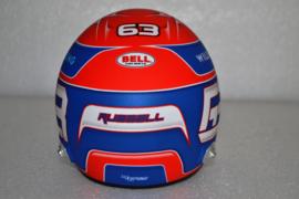 George Russell Williams Mercedes helmet 2021 season