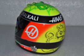 Mick Schumacher HAAS Ferrari helmet 2021 season