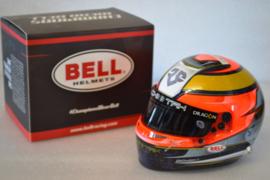 Jean Eric Vergne Techeetah Formula E Team helmet 2018 season