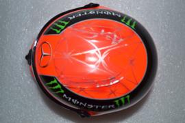 Michael Schumacher Mercedes AMG Petronas helmet Brazillian Grand Prix 2012 season