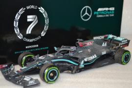 Lewis Hamilton Mercedes AMG Petronas MGP-W11 race car Turkish Grand Prix 2020 season