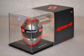 Carlos Sainz Mc Laren Renault helmet 2020 season