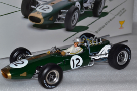 Jack Brabham Brabham Ford BT19 race car French Grand Prix 1966 season