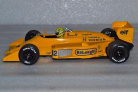 Ayrton Senna Lotus Renault 99T race  car Monaco Grand Prix 1987 season