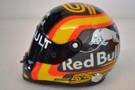 Carlos Sainz Renault F1 Team helmet 2018 season