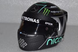 Nico Rosberg Mercedes AMG Petronas helmet 2016 season