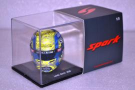 Lando Norris Mc Laren Renault helmet Austrian Grand Prix 2020 season