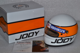 Jody Scheckter Scuderia Ferrari Helmet World Champion 1979 season signed