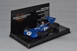 Jackie Stewart Tyrrel Ford 003 race car World Champion 1973 season