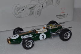 Jack Brabham Brabham Ford BT19 race car World Champion 1966 season