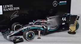 Lewis Hamilton Mercedes AMG Petronas MGP-W10 race car USA Grand Prix 2019 season