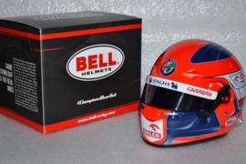 Robert Kubica Alfa Romeo Orlen helmet 2021 season