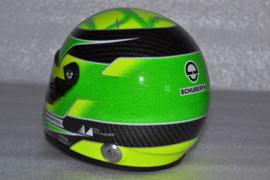 Mick Schumacher Prema Racing GP3 helmet 2018 season
