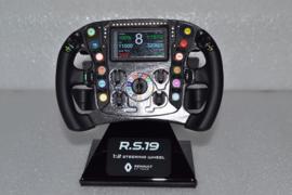 Nico Hulkenberg & Daniël Ricciärdo Renault F1 Team RS19 Steering wheel 2019 season