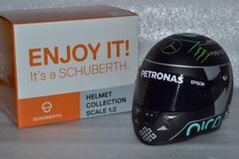 Nico Rosberg Mercedes AMG Petronas helmet World Champion 2016 season