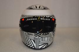 Fernando Alonso Mc Laren Honda helmet pre season testing 2017