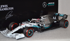 Lewis Hamilton Mercedes AMG Petronas MGP-W10 race car German Grand Prix 2019 season