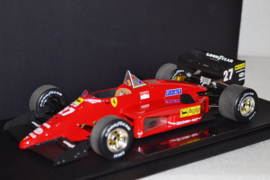 Michele Alboreto Ferrari 156/85 race car 1985 season