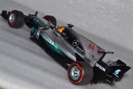 Lewis Hamilton Mercedes AMG Petronas MGP-W08 race car Mexican Grand Prix 2017 season