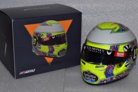 Lando Norris Mc Laren Renault Mexican Grand Prix Helmet 2019 Season