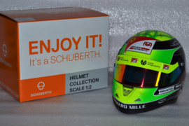 Mick Schumacher Prema Racing helmet F2 2019 season