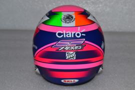 Sergio Perez Racing Point helmet 2019 season