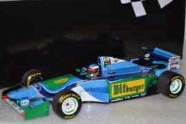 Michael Schumacher Benetton Ford B194 race car Australian Grand Prix 1994 season