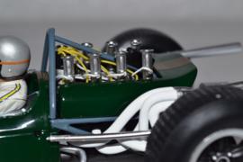 Jack Brabham Brabham Ford BT19 race car French Grand Prix 1966 season