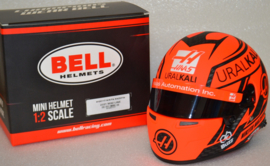 Nikita Mazepin Haas Ferrari mini helmet 2021 season