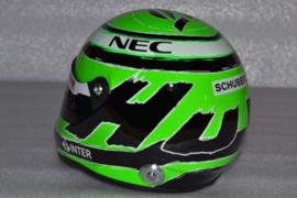 Nico Hulkenberg Sahara Force India helmet 2016 season