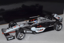 Mika Hakkinen Mc Laren Mercedes MP4-14 Race Car World Champion 1999 Season