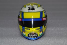 Lando Norris Mc Laren Renault helmet 2019 season