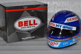 Fernando Alonso Toyota Gazoo Racing WEC helmet 2018 season
