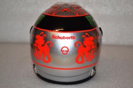Michael Schumacher Mercdes AMG Petronas helmet Belgian Grand Prix 2012 season