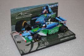 Michael Schumacher Benetton Ford B194 Race Car World Champion 1994 Season