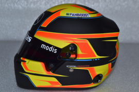 Stoffel Vandoorne HWA Vestas Team Formula E mini helmet 2021 season