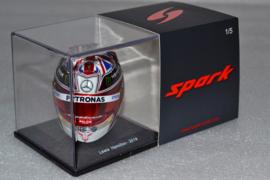 Lewis Hamilton Mercedes AMG Petronas helmet British Grand Prix 2019 season