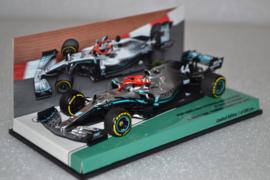 Lewis Hamilton Mercedes AMG Petronas MGP-W10 race car Monaco Grand Prix 2019 season