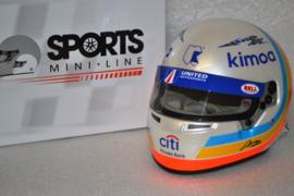 Fernando Alonso Ligier helmet 24hrs of Daytona 2018 Edition