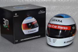 Michael Schumacher Jordan Ford helmet Belgian Grand Prix 1991 season