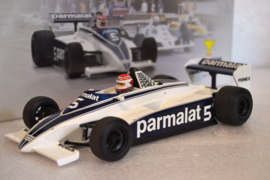 Nelson Piquet Brabham Ford BT49C Race Car Argentinian Grand Prix 1981 Season