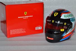 Kimi Raikkonen Scuderia Ferrari helmet 2018 season