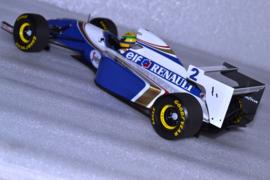 Ayrton Senna Williams Renault FW16 race car Pacific Grand Prix 1994 season