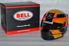 Stoffel Vandoorne HWA Vestas Team Formula E helmet 2019/ 2020 season