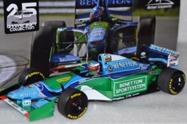 Michael Schumacher Benetton Ford B194 race car Canadian Grand Prix 1994 season